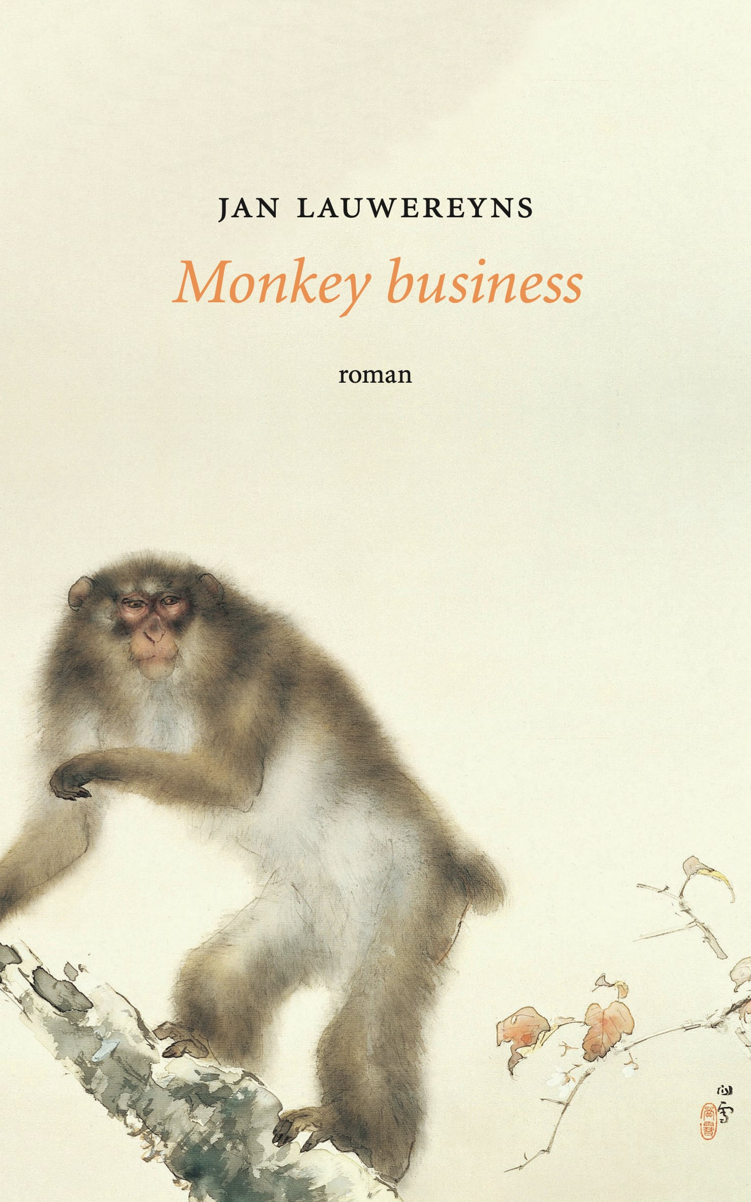 Monkey Business – Jan Lauwereyns